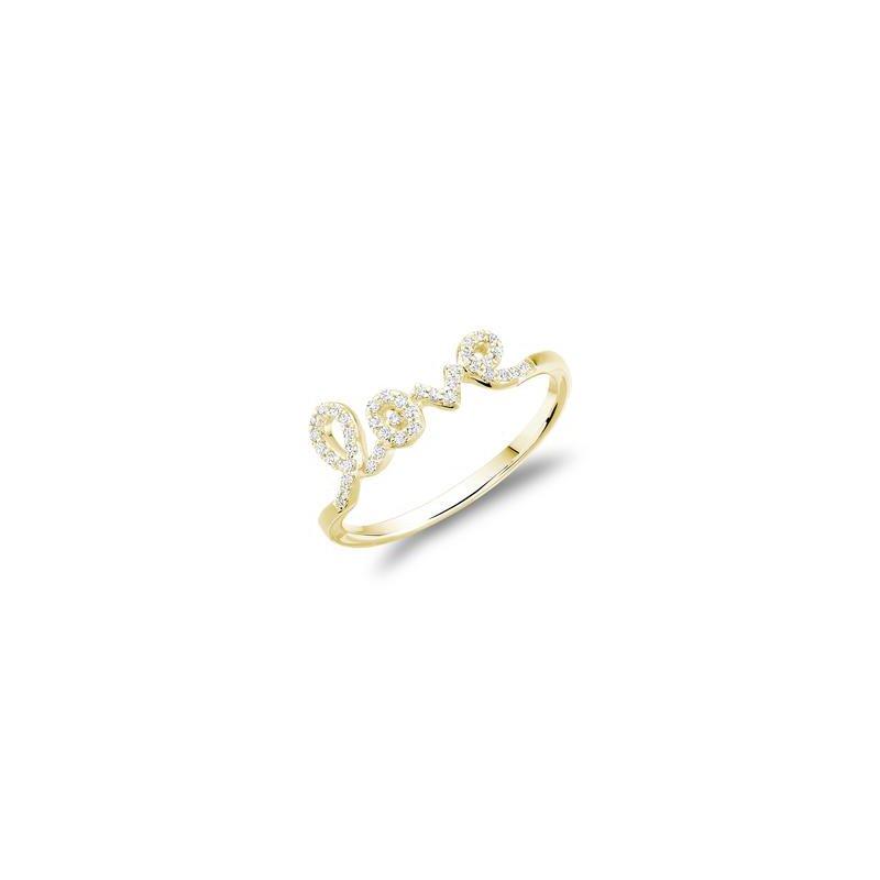 RNB Bijoux Jewellery Diamond Love Ring