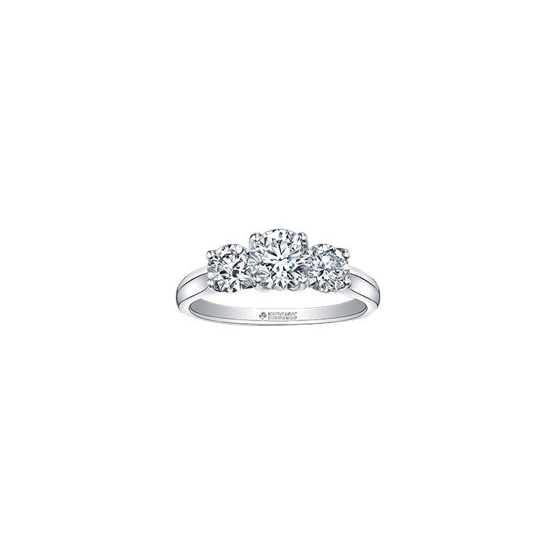 The Collection Three Stone Diamond Ring