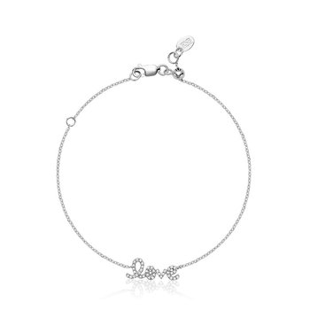 "Mini ""Love"" Diamond Bracelet"
