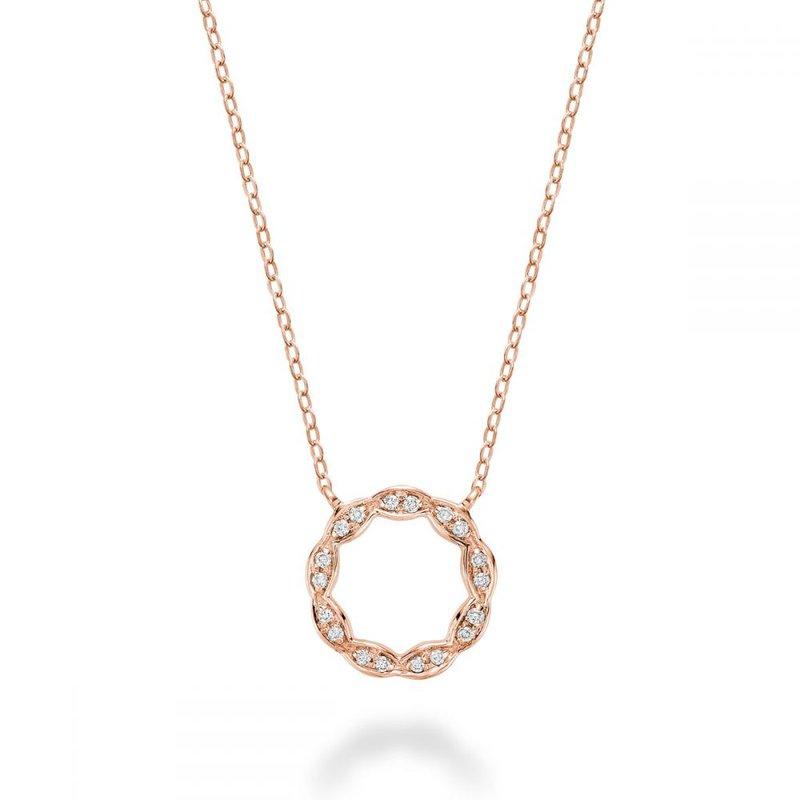 RNB Bijoux Jewellery Round Marquise Diamond Pendant