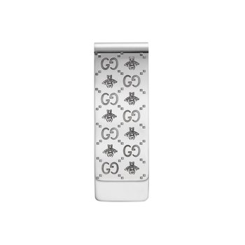 Sterling Silver Interlocking Money Clip Bee