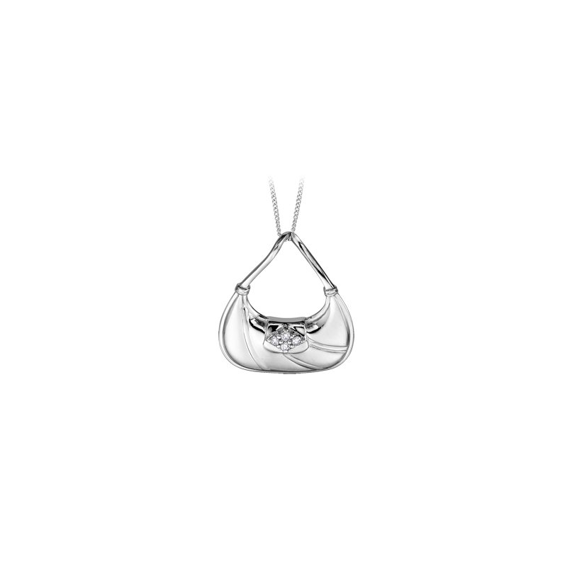 The Collection Diamond Purse Pendant