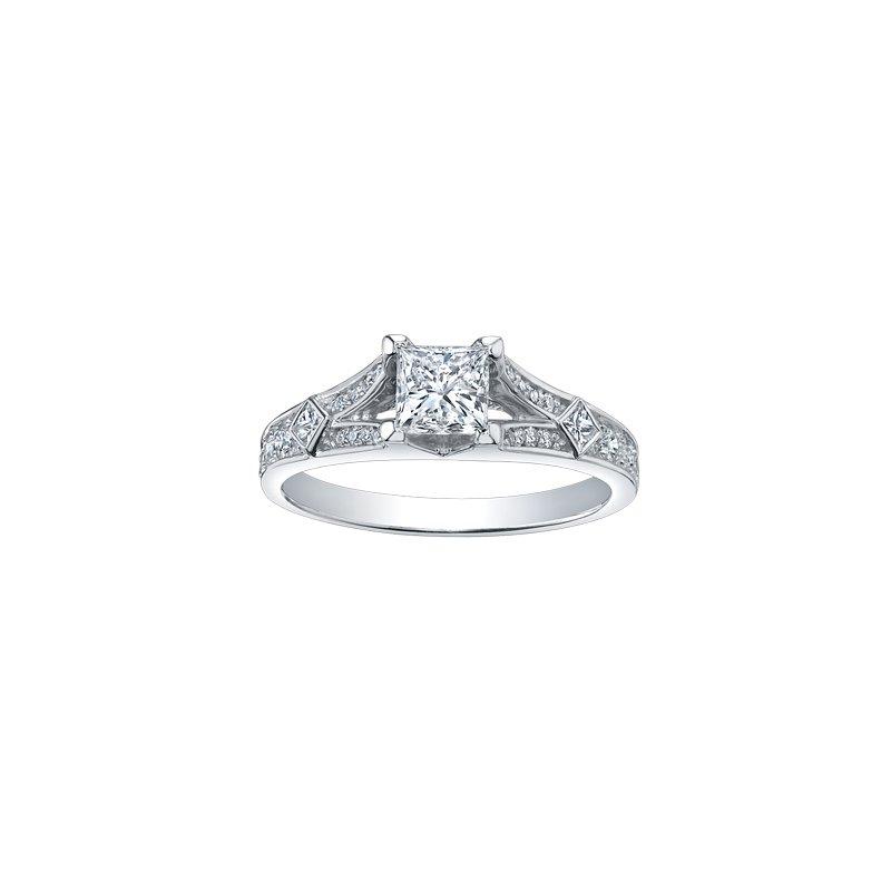 The Collection Multi Stone Princess Cut Diamond Ring