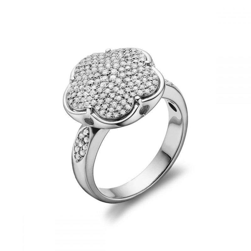 RNB Bijoux Jewellery Flower Mount Diamond Fashion Ring