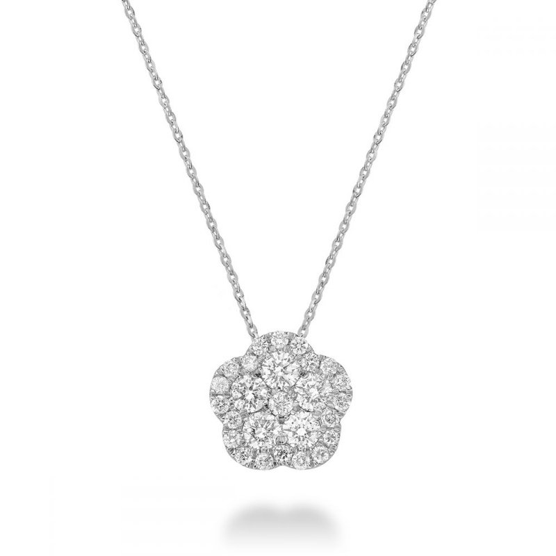 RNB Bijoux Jewellery Diamond Flower Pendant