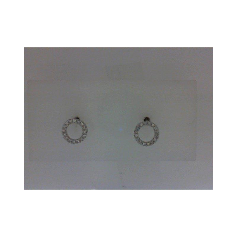 RNB Bijoux Jewellery Diamond Circle Stud Earrings