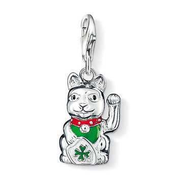 Fortune Cat Charm