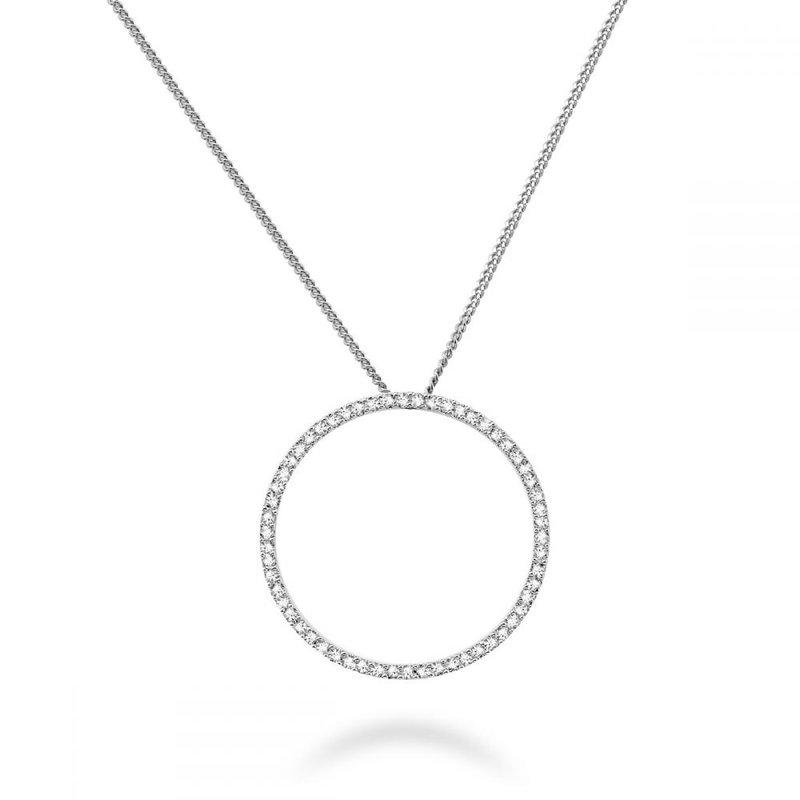 RNB Bijoux Jewellery Circle Of Life Diamond Pendant