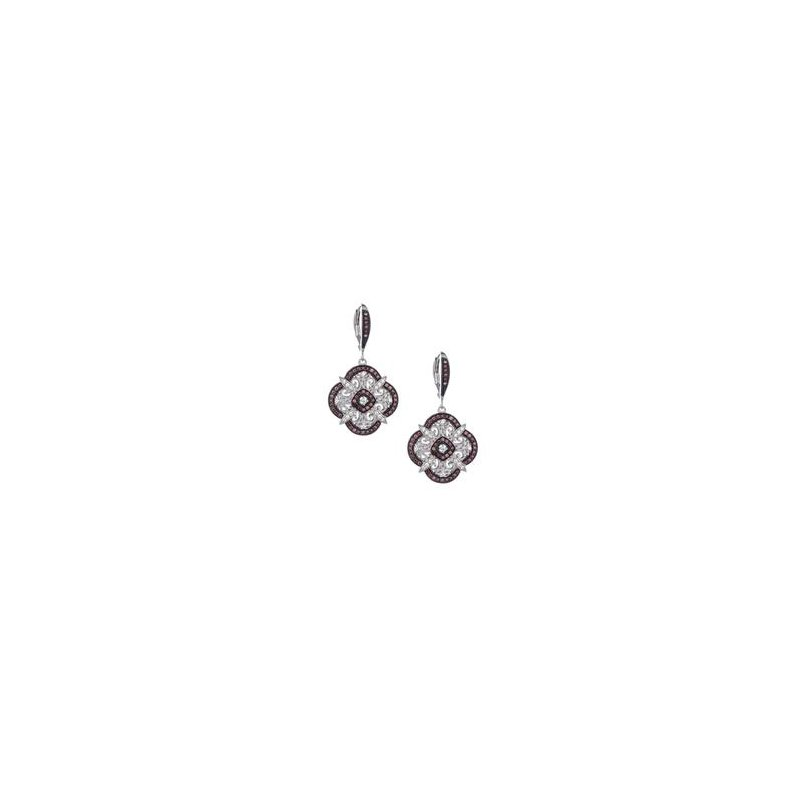 Keith Jack Night And Day Scalloped Earrings