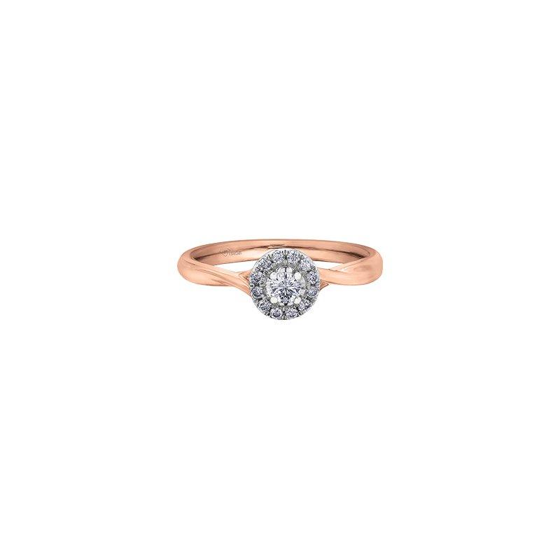 Corona Jewellery Halo Diamond Ring