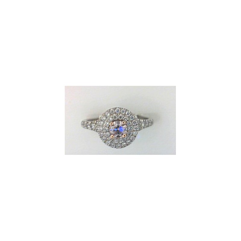 The Collection Halo Pink Diamond Ring