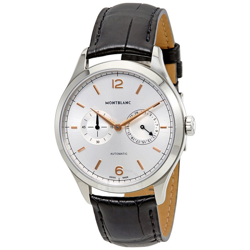 Montblanc Heritage Chronometrie Twincounter Date Watch