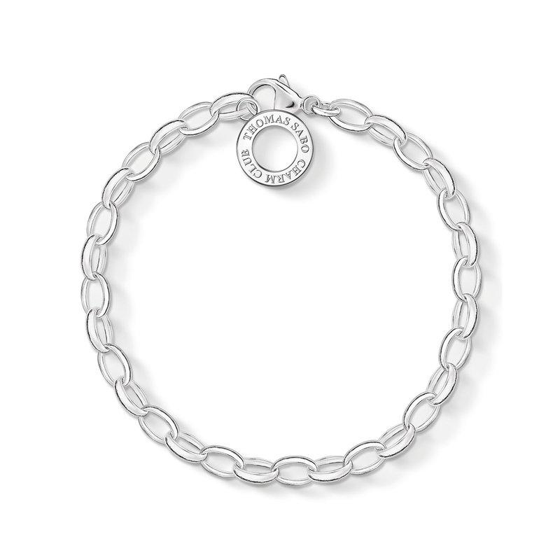 Thomas Sabo Sterling SIlver Charm Bracelet Classic Small