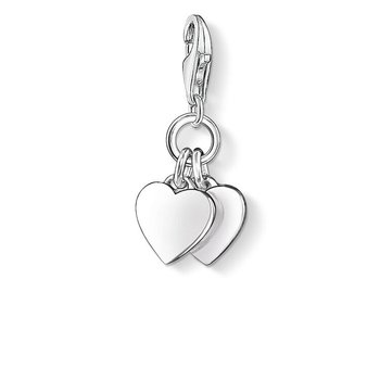 Charm Two Hearts