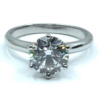 Signature 6 Claw Solitaire Diamond Ring