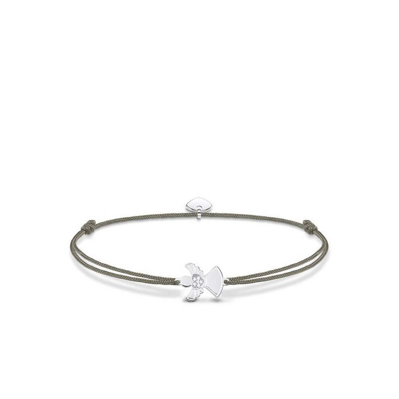 "Thomas Sabo Textile Bracelet ""Little Secret Angel"""