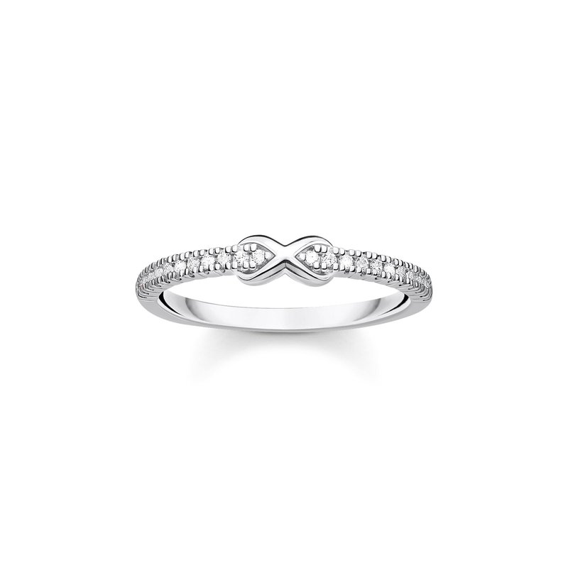 Thomas Sabo Infinity Ring With Stones