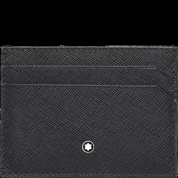 Sartorial Black Pocket  Card Holder 5cc