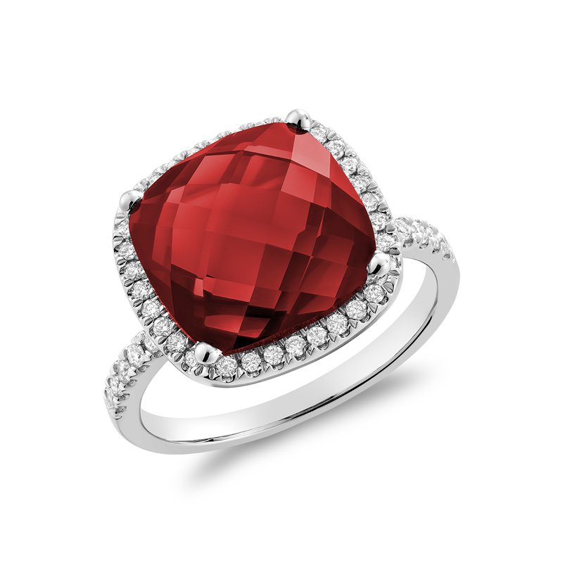 RNB Bijoux Jewellery Created Ruby And Diamond Ring