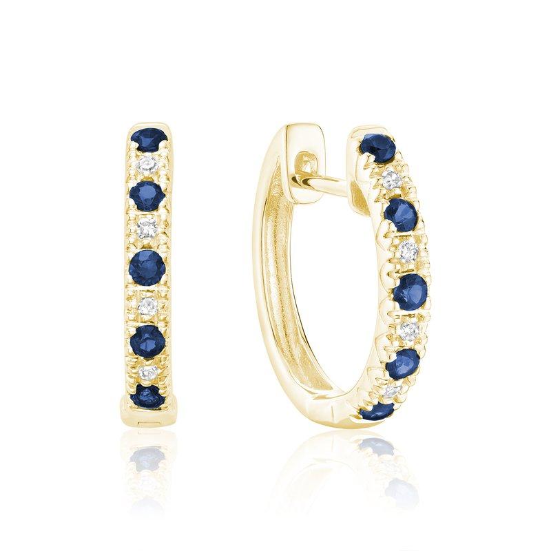 RNB Bijoux Jewellery Sapphire and Diamond Earrings