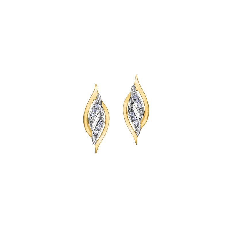 The Collection Diamond Drop Earrings