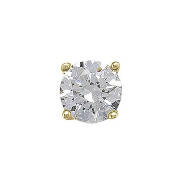 5 mm Cz Stud Earrings