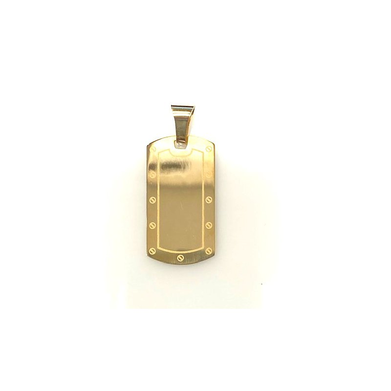 The  Collection Dog Tag Style Pendant