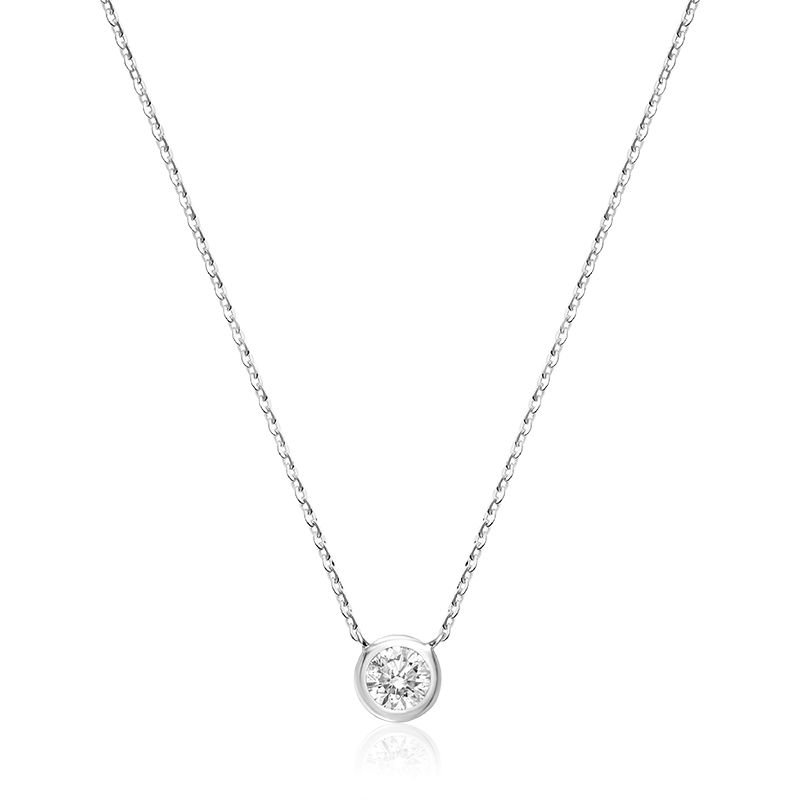 RNB Bijoux Jewellery Bezel Diamond Necklace