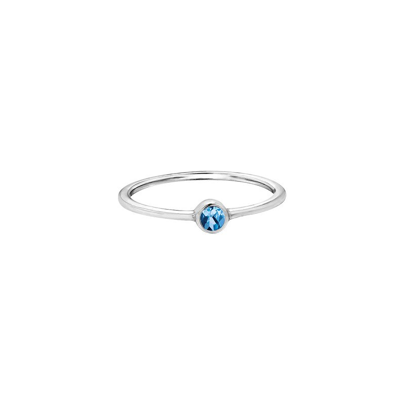 The Collection Blue Topaz Ring