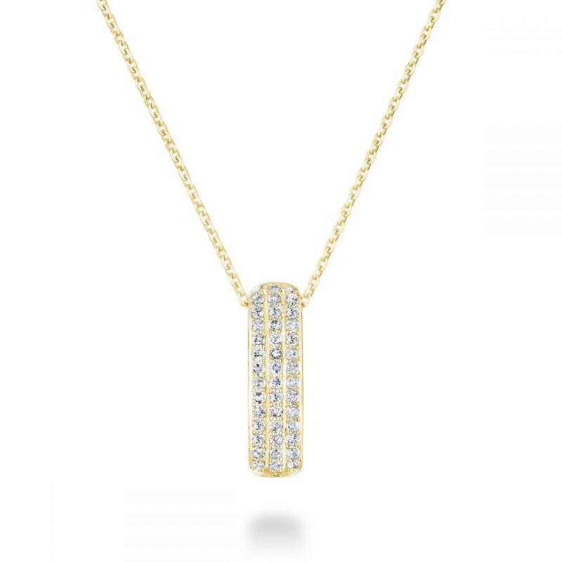 RNB Bijoux Jewellery Diamond Pave Pendant