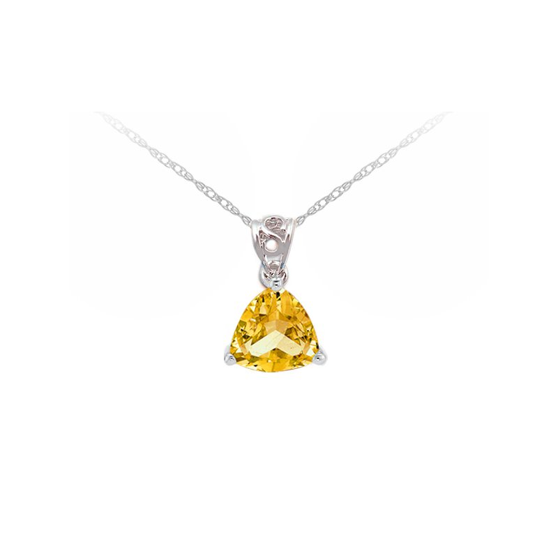The Collection Citrine Pendant