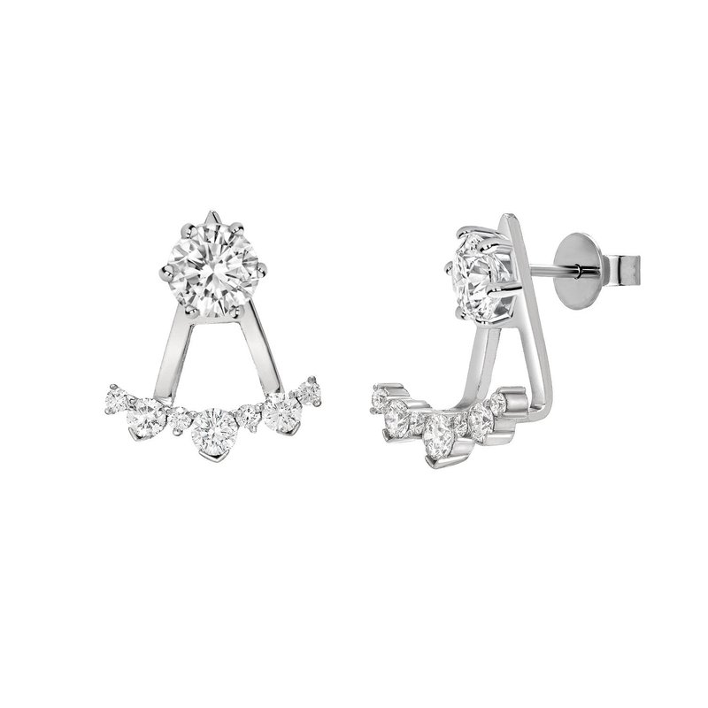 The Collection Diamond Earring Jackets