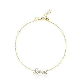 "Mini ""Love"" Diamond Bracelet"