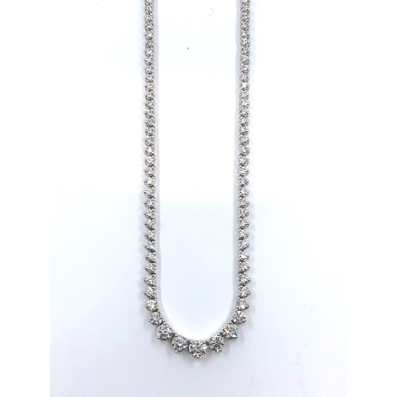 The Collection Diamond Tennis Necklace