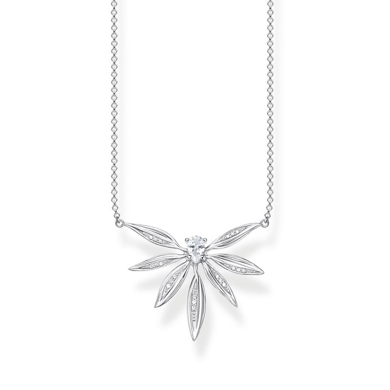 Thomas Sabo Sterling Silver Leaves Necklace
