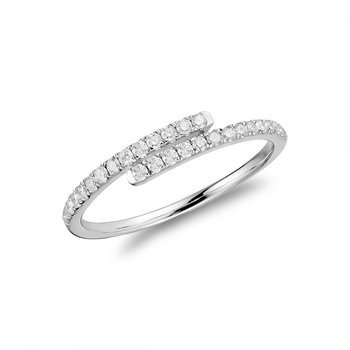 Linear Wrap Fashion Diamond Ring