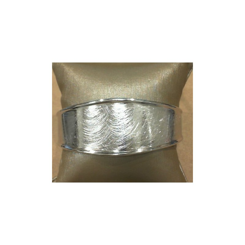 The  Collection Cuff Style Bracelet With Etched Finish