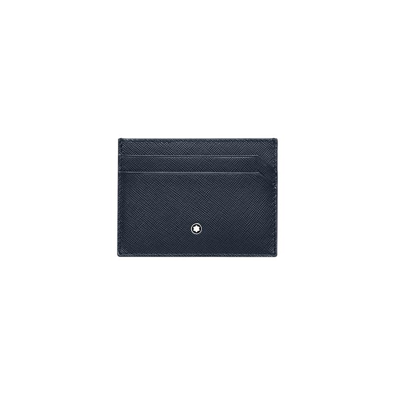 Montblanc Sartorial Pocket 5Cc Indigo-Flannel