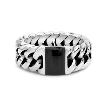 Onyx Chain Ring