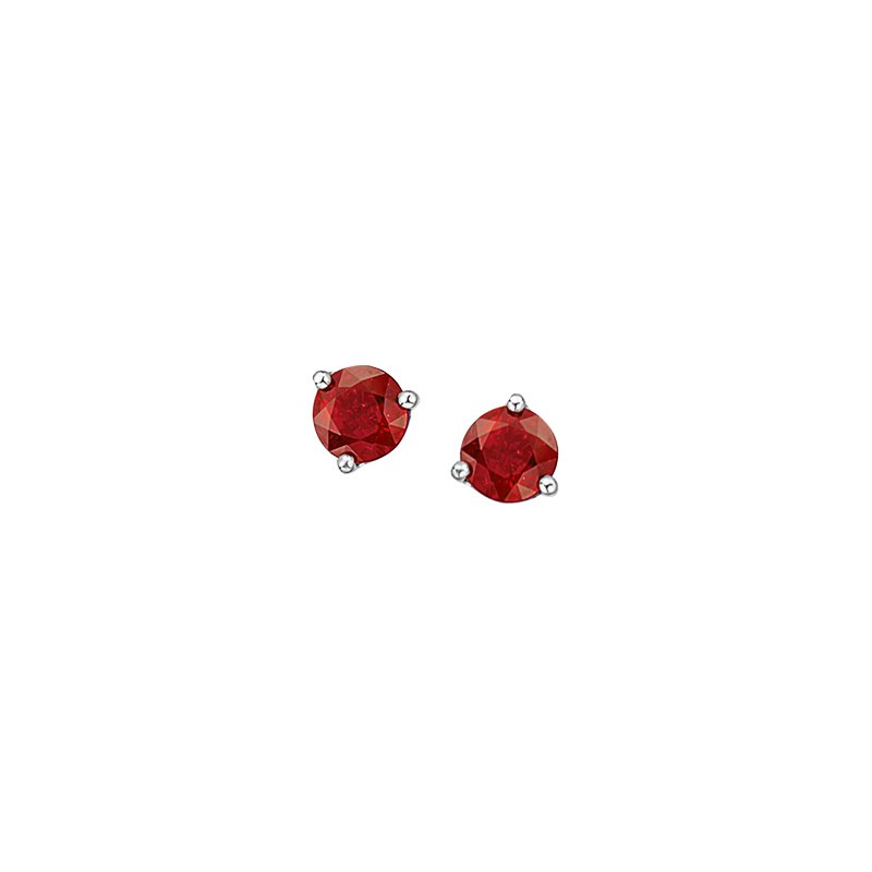 The Collection Garnet Studs