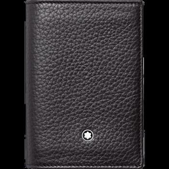 Meisterstuck Black Leather Soft Grain Business Card Holder