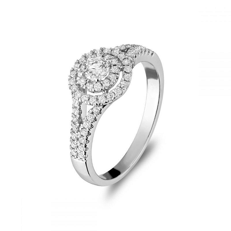 RNB Bijoux Jewellery Double Halo Engagement Ring