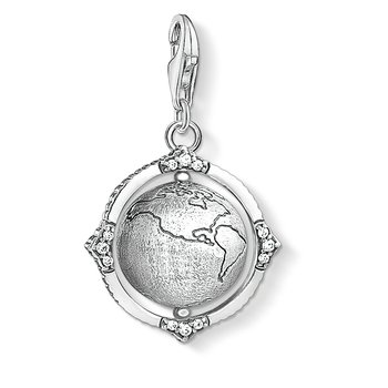 Charm Pendant Vintage Globe