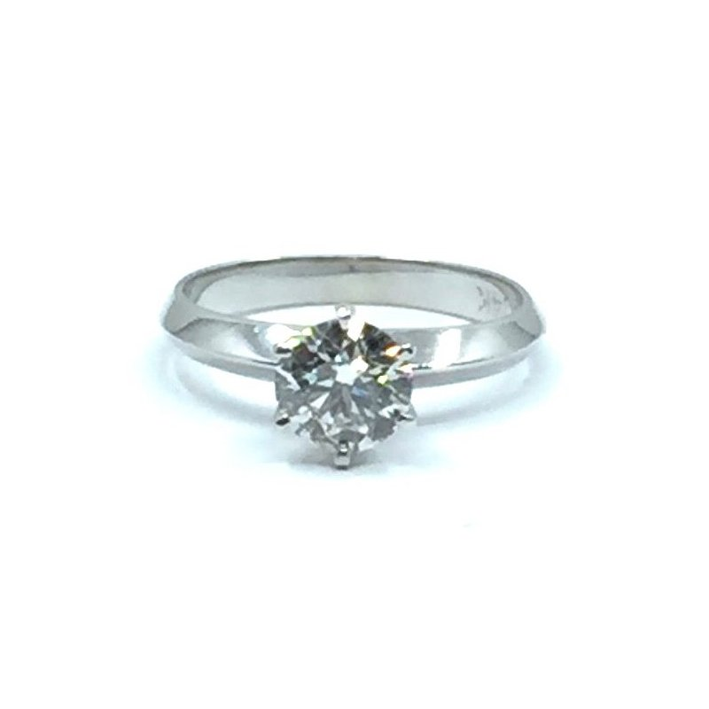 The Collection Diamond Solitaire Engagement Ring