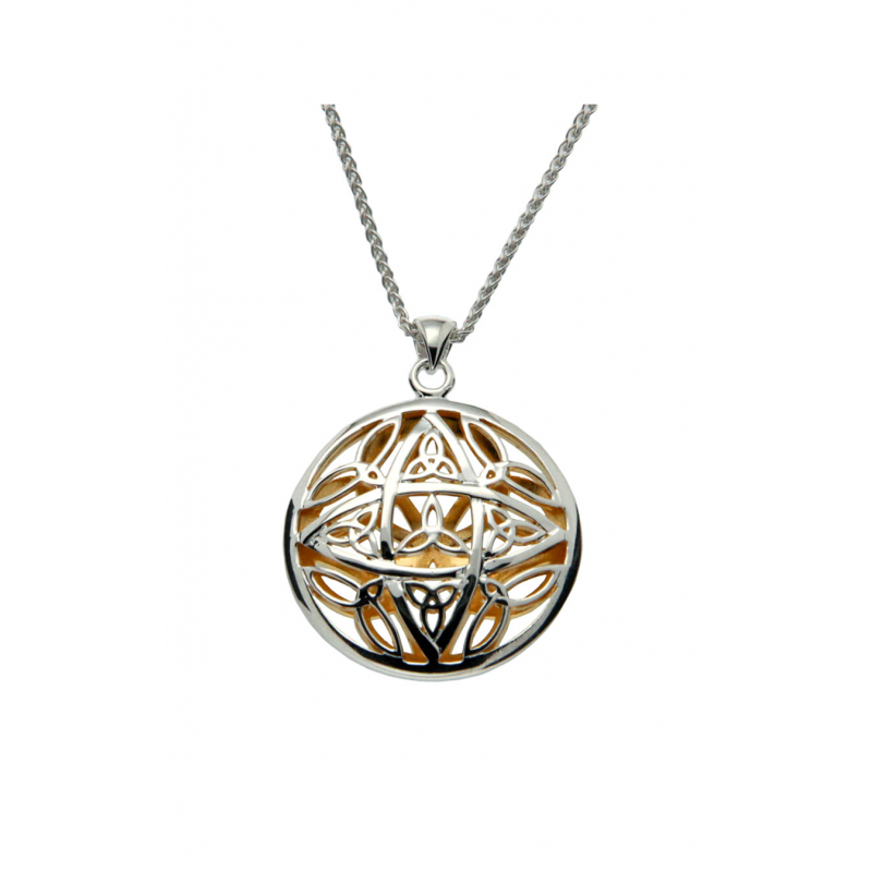 Keith Jack Double Side Trinity Pendant