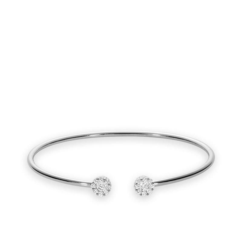 RNB Bijoux Jewellery Cluster Diamond Bangle