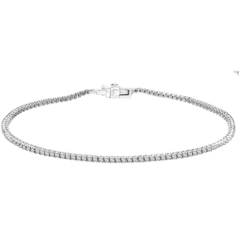 Autograph Jewelry Diamond Tennis Bracelet