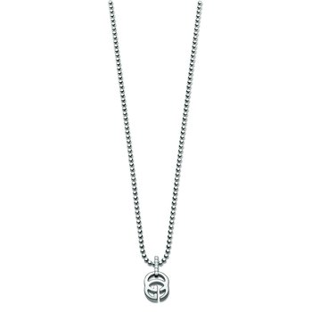 Running G Diamond Necklace