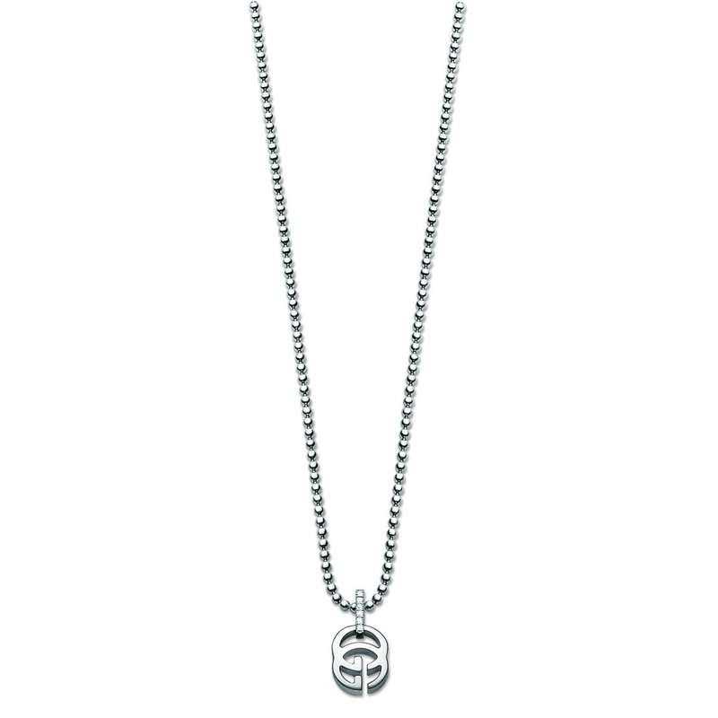 Gucci Jewellery Running G Diamond Necklace