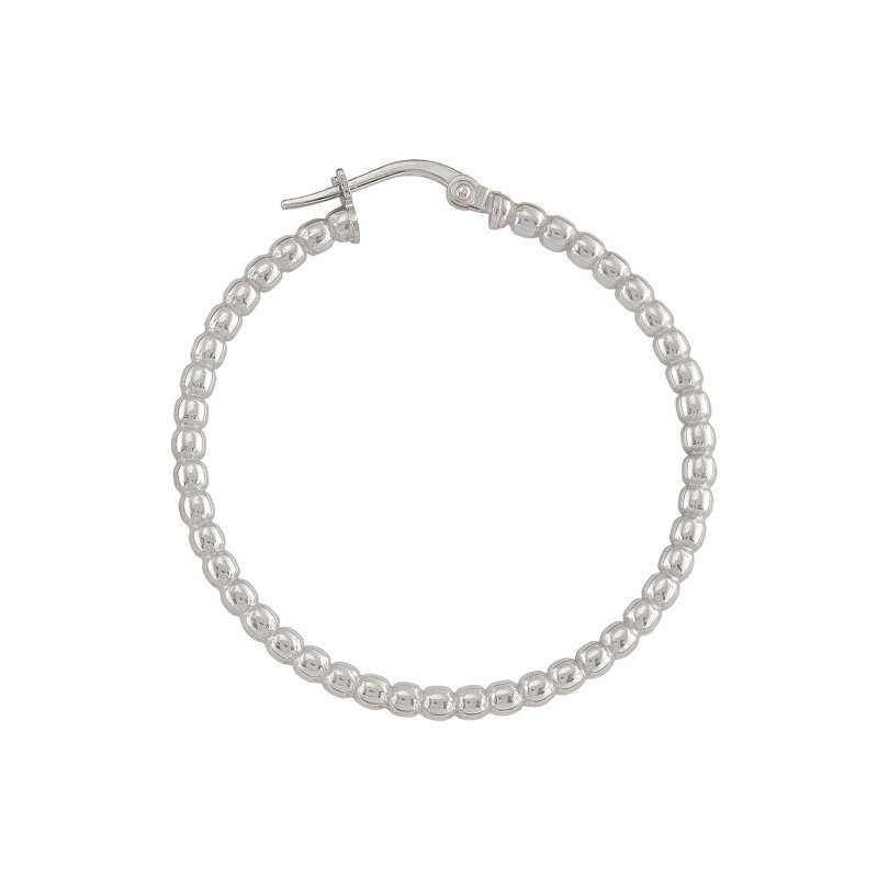 The Collection Bead Hoop Earrings